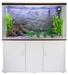 Monstershop aquarium avec meuble